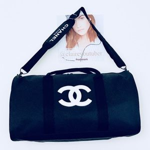 Authentic Chanel VIP Gift Gym bag/Duffle Bag